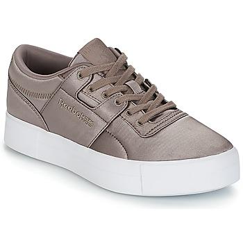 鞋子 女士 球鞋基本款 Reebok Classic WORKOUT LO FVS TXT 灰色