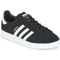 鞋子 儿童 球鞋基本款 Adidas Originals 阿迪达斯三叶草 CAMPUS C 黑色