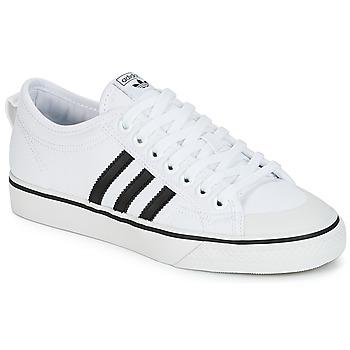 鞋子 球鞋基本款 Adidas Originals 阿迪达斯三叶草 NIZZA 白色 / 黑色