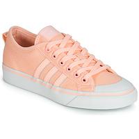 鞋子 女士 球鞋基本款 Adidas Originals 阿迪达斯三叶草 NIZZA W 玫瑰色