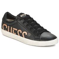鞋子 男士 球鞋基本款 Guess RYAN 黑色