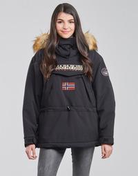 衣服 女士 棉衣 Napapijri SKIDOO 黑色