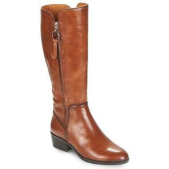 鞋子 女士 都市靴 Pikolinos 派高雁 DAROCA W1U 驼色