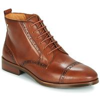 鞋子 女士 短筒靴 Pikolinos 派高雁 ROYAL W4D 驼色