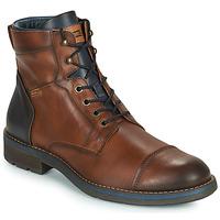 鞋子 男士 短筒靴 Pikolinos 派高雁 YORK M2M 棕色 / 海蓝色