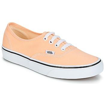 鞋子 女士 球鞋基本款 Vans 范斯 AUTHENTIC 米色