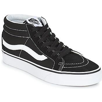 鞋子 高帮鞋 Vans 范斯 SK8-MID REISSUE 黑色 / 白色