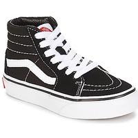 鞋子 儿童 高帮鞋 Vans 范斯 UY SK8-HI 黑色 / 白色
