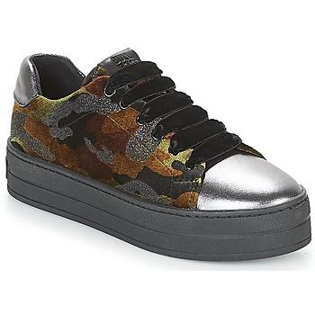 鞋子 女士 球鞋基本款 Bullboxer TECHA 棕色