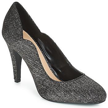 鞋子 女士 高跟鞋 Moony Mood JANNEE 黑色 / 銀色