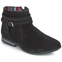鞋子 女士 短筒靴 Minnetonka DIXON BOOT 黑色