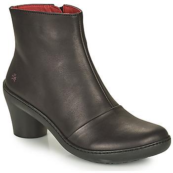 鞋子 女士 短靴 Art ALFAMA 黑色