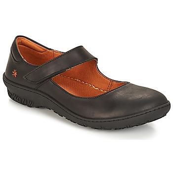 鞋子 女士 平底鞋 Art ANTIBES 黑色