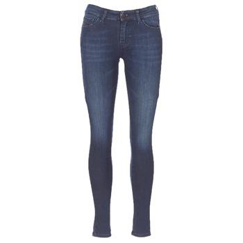 衣服 女士 牛仔铅笔裤 Diesel 迪赛尔 SLANDY 蓝色