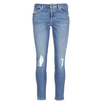 衣服 女士 紧身牛仔裤 Diesel 迪赛尔 BABHILA 蓝色
