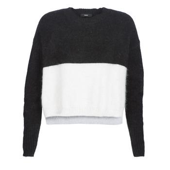 衣服 女士 羊毛衫 Diesel 迪赛尔 M AIRY 黑色 / 白色