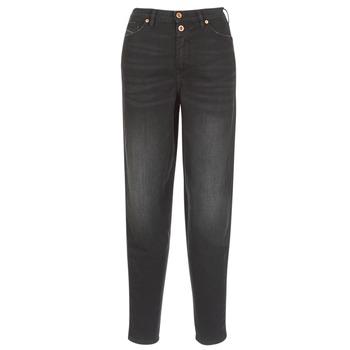 衣服 女士 直筒牛仔裤 Diesel 迪赛尔 ALYS 黑色