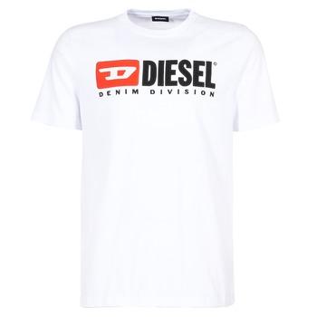 衣服 男士 短袖体恤 Diesel 迪赛尔 T JUST DIVISION 白色