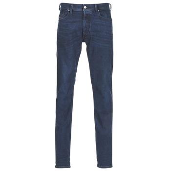衣服 男士 紧身牛仔裤 Diesel 迪赛尔 TEPPHAR 蓝色