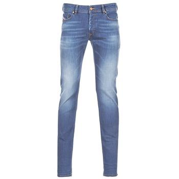 衣服 男士 牛仔鉛筆褲 Diesel 迪賽爾 SLEENKER 藍色
