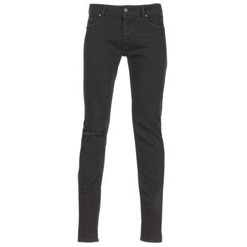 衣服 男士 牛仔铅笔裤 Diesel 迪赛尔 SLEENKER 黑色