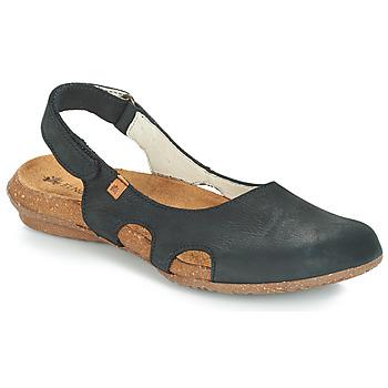 鞋子 女士 涼鞋 El Naturalista WAKATAUA 黑色