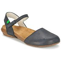 鞋子 女士 凉鞋 El Naturalista WAKATAUA 黑色
