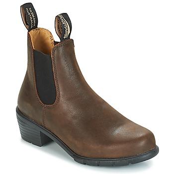 鞋子 女士 短筒靴 Blundstone WOMEN'S HEEL BOOT 棕色