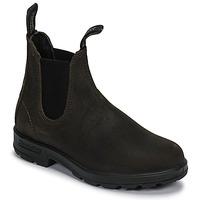 鞋子 短筒靴 Blundstone SUEDE CLASSIC BOOT 卡其色