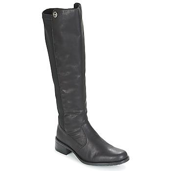 鞋子 女士 都市靴 Rieker 瑞克尔 ARNIA 黑色