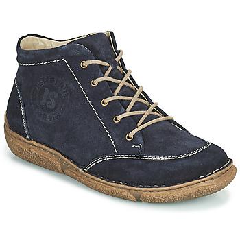 鞋子 女士 短筒靴 Josef Seibel Neele 01 海藍色
