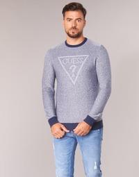 衣服 男士 羊毛衫 Guess TAMAC 藍色