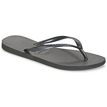 鞋子 女士 人字拖 Havaianas 哈瓦那 SLIM 黑色
