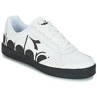 鞋子 男士 球鞋基本款 Diadora 迪亚多纳 B.ELITE BOLDER 白色 / 黑色