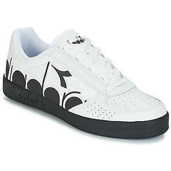 鞋子 男士 球鞋基本款 Diadora 迪亞多納 B.ELITE BOLDER 白色 / 黑色