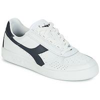 鞋子 球鞋基本款 Diadora 迪亚多纳 B.ELITE 白色 / 海蓝色