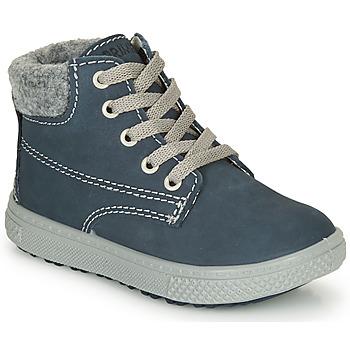鞋子 男孩 短筒靴 Primigi BARTH 19 海蓝色 / 灰色