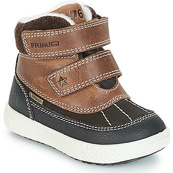鞋子 男孩 短筒靴 Primigi 2372600 PBZGT GORE-TEX 棕色