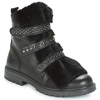 鞋子 女孩 短筒靴 Primigi CHRIS 黑色