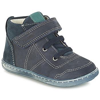 鞋子 男孩 短筒靴 Primigi PALMER 蓝色