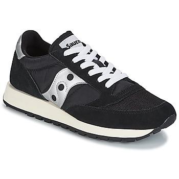 鞋子 球鞋基本款 Saucony JAZZ ORIGINAL VINTAGE 黑色 / 白色
