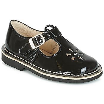 鞋子 女孩 平底鞋 Aster DINGO 黑色 / 漆皮