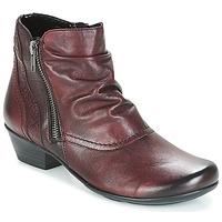 鞋子 女士 短靴 Remonte SORIAL 波尔多红