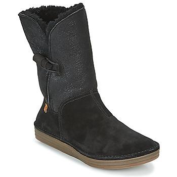 鞋子 女士 短筒靴 El Naturalista RICE FIELD 黑色