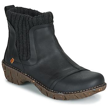 鞋子 女士 短筒靴 El Naturalista YGGDRASIL 黑色
