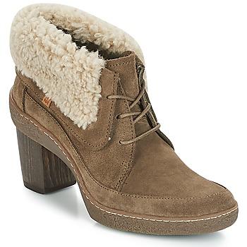 鞋子 女士 短靴 El Naturalista LICHEN 卡其色