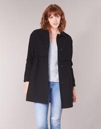 衣服 女士 大衣 Sisley FAREDA 黑色