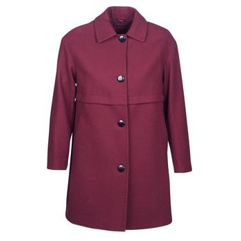 衣服 女士 大衣 Sisley FAREDA 波尔多红