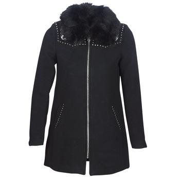 衣服 女士 大衣 Desigual COLLINE 黑色