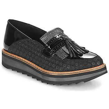 鞋子 女士 皮便鞋 Regard RINOVI V2 COMET NERO 黑色